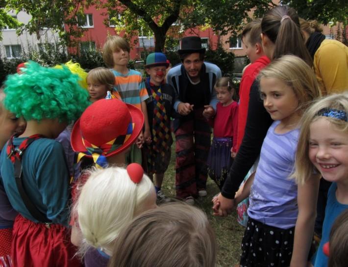 Zirkus-Workshop Schule