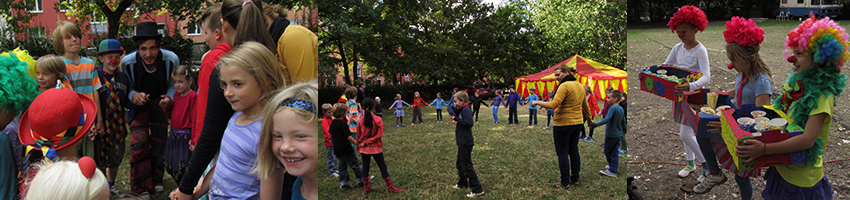 Zirkus Workshops für Schulen & Kita's